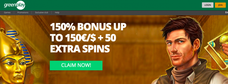 GreenPlay Casino Bonus Info