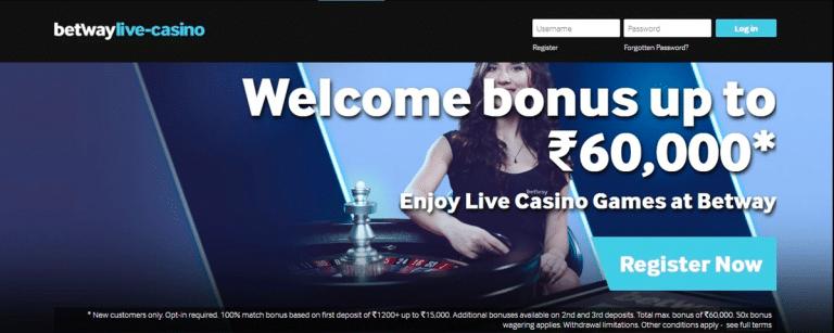 Betway Online Casino India