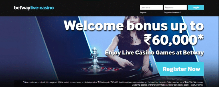 Betway Online Casino India