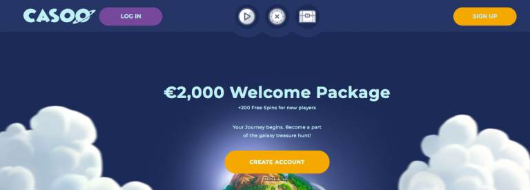 Casoo Casino Welcome Bonus