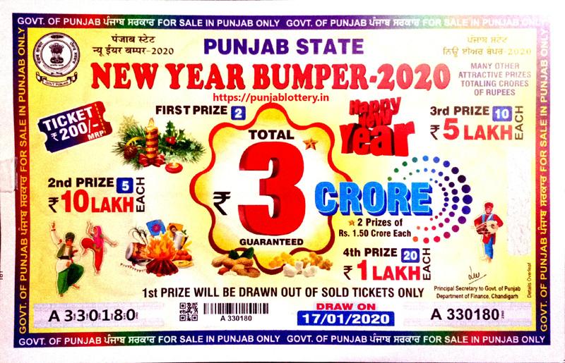 Punjab State Lottery 2020