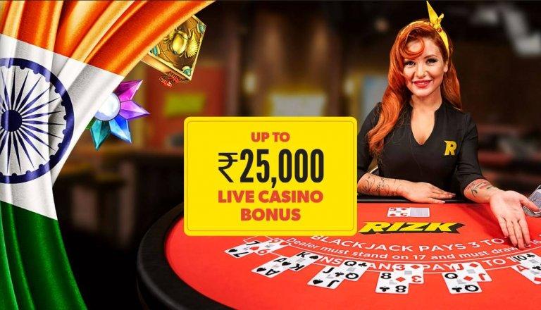 Rizk Live Casino Bonus