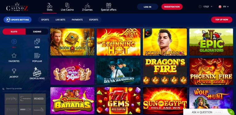 Casino-Z Casino Games