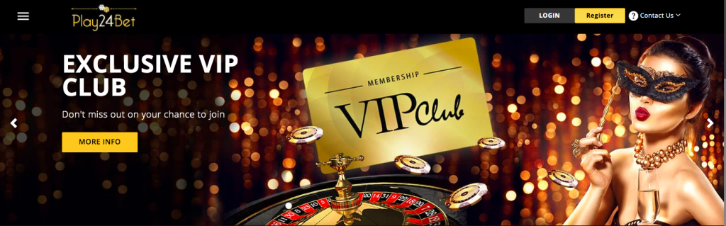 Play24Bet Casino VIP CLUB