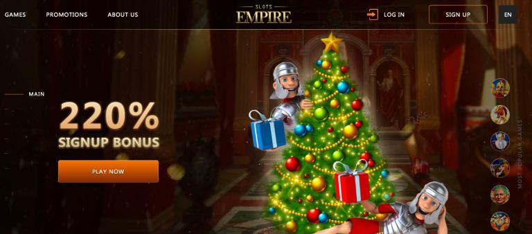 Slots Empire Casino Bonus Info