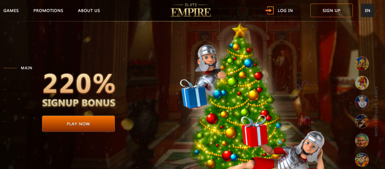 Slots Empire Casino Bonus Info