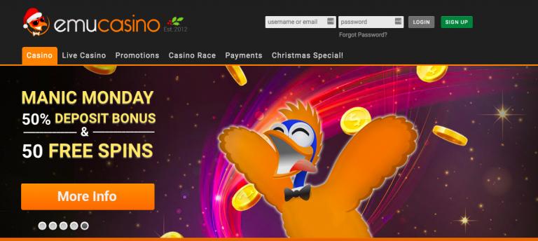 Free spins emu casino sportsbook