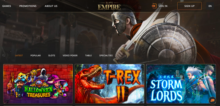 Empire Casino Games