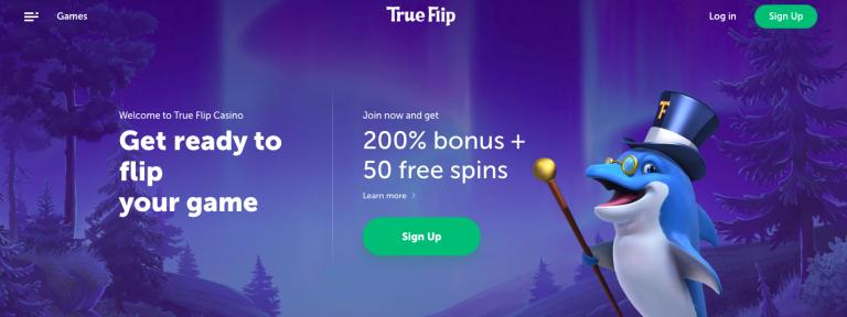 TrueFlip Casino Welcome Bonus Info